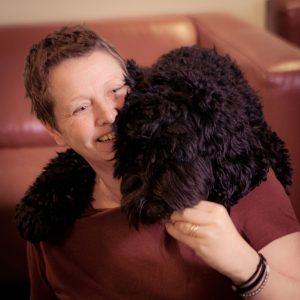 Linda och Luna terapihund i Knivsta